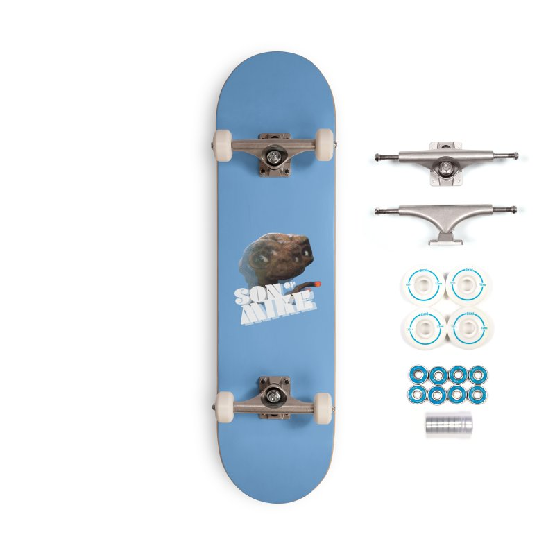 """Son of Mike """"ET"""" Accessories Complete - Basic Skateboard by Turkeylegsray's Artist Shop"""