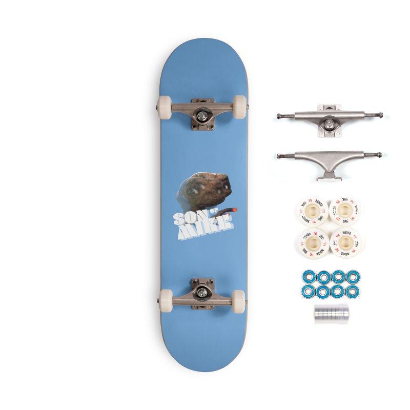 "Son of Mike ""ET"" Accessories Complete - Premium Skateboard by Turkeylegsray's Artist Shop"