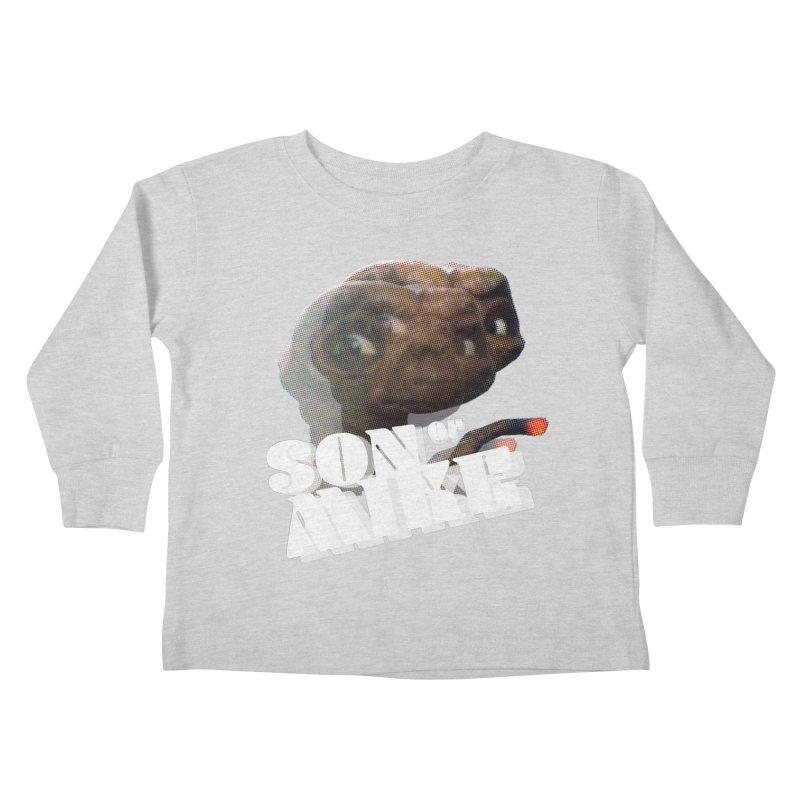 "Son of Mike ""ET"" Kids Toddler Longsleeve T-Shirt by Turkeylegsray's Artist Shop"