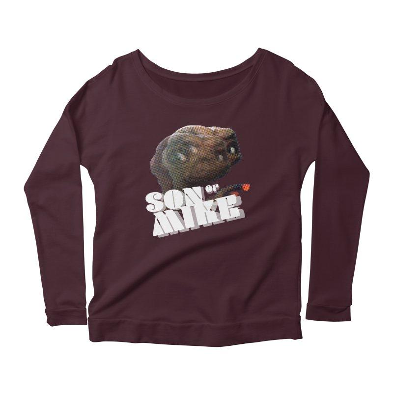"""Son of Mike """"ET"""" Women's Scoop Neck Longsleeve T-Shirt by Turkeylegsray's Artist Shop"""