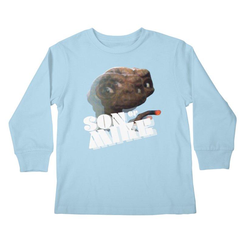 """Son of Mike """"ET"""" Kids Longsleeve T-Shirt by Turkeylegsray's Artist Shop"""