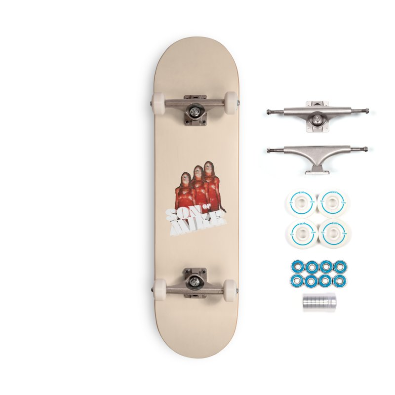 """Son of Mike """"Carrie"""" Accessories Complete - Basic Skateboard by Turkeylegsray's Artist Shop"""