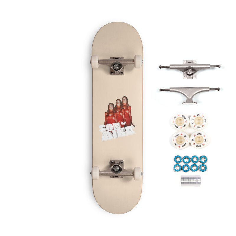 """Son of Mike """"Carrie"""" Accessories Complete - Premium Skateboard by Turkeylegsray's Artist Shop"""