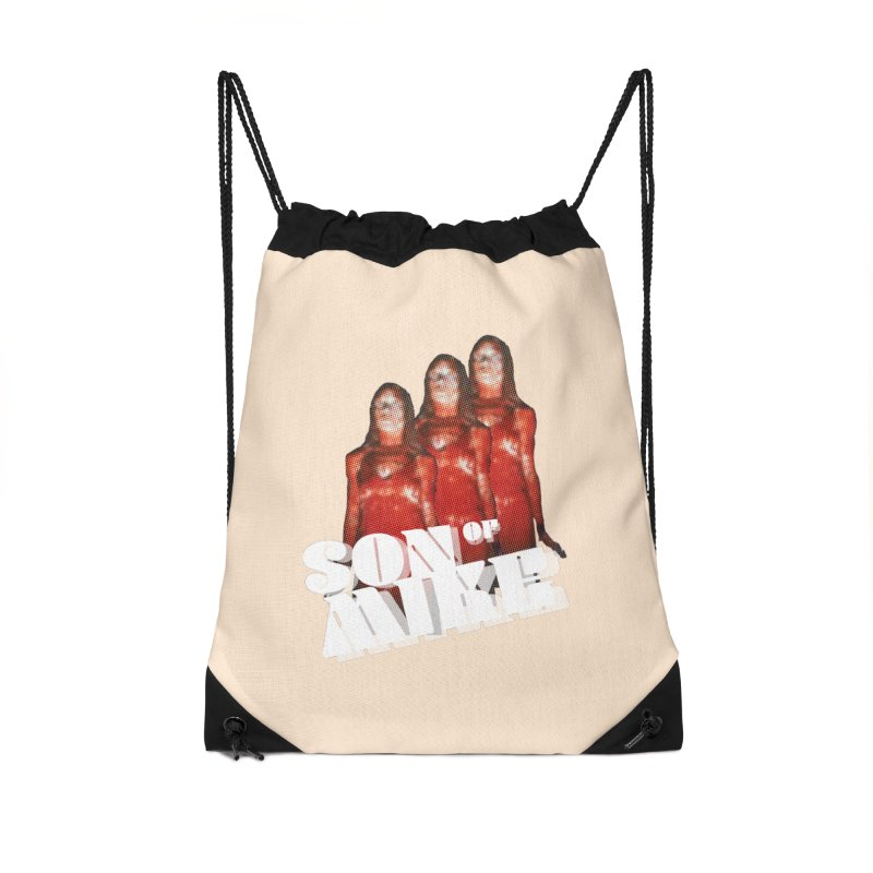 """Son of Mike """"Carrie"""" Accessories Drawstring Bag Bag by Turkeylegsray's Artist Shop"""