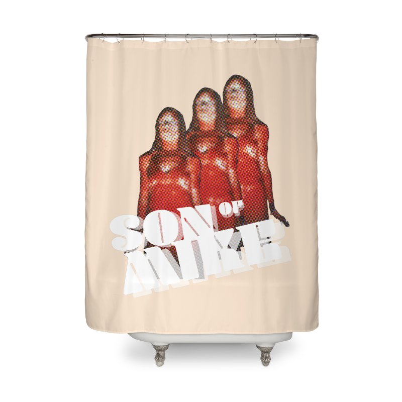 """Son of Mike """"Carrie"""" Home Shower Curtain by Turkeylegsray's Artist Shop"""