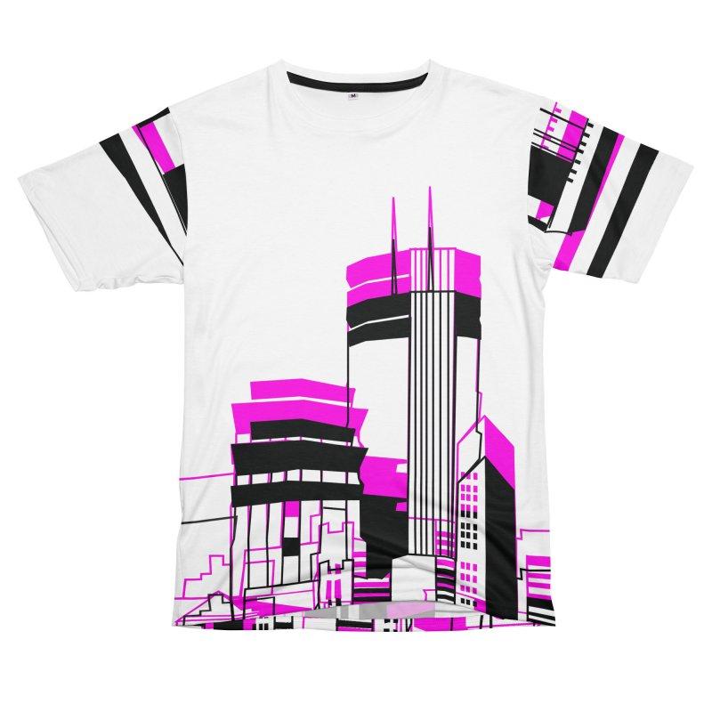 City Men's T-Shirt Cut & Sew by Turkeylegsray's Artist Shop