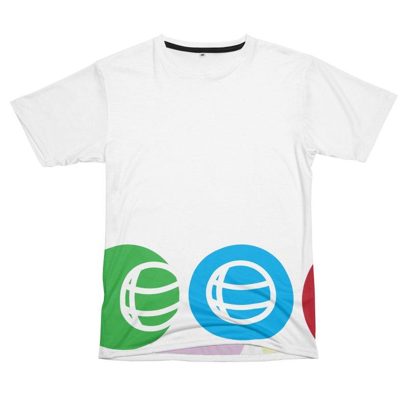 Circles Men's T-Shirt Cut & Sew by Turkeylegsray's Artist Shop