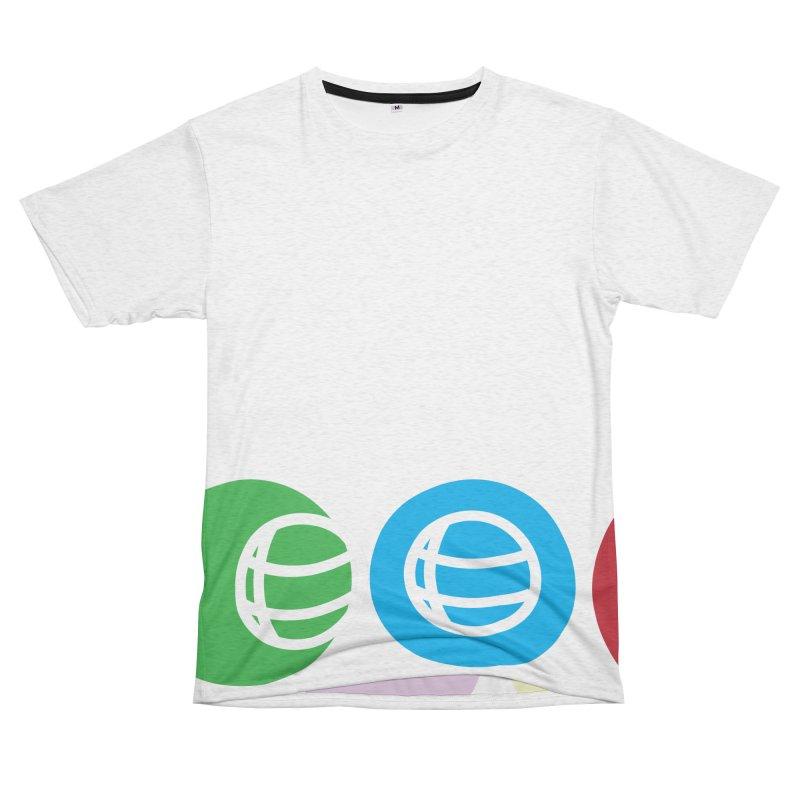 Circles Women's Unisex French Terry T-Shirt Cut & Sew by Turkeylegsray's Artist Shop