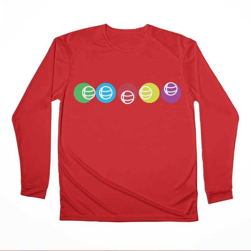 Circles Men's Performance Longsleeve T-Shirt by Turkeylegsray's Artist Shop