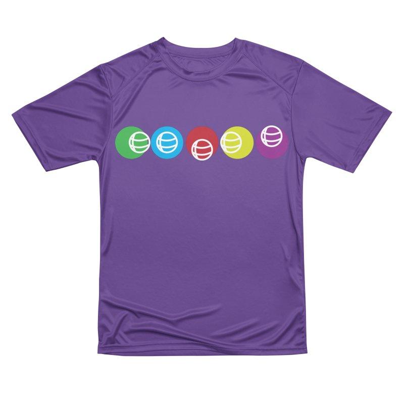 Circles Women's Performance Unisex T-Shirt by Turkeylegsray's Artist Shop