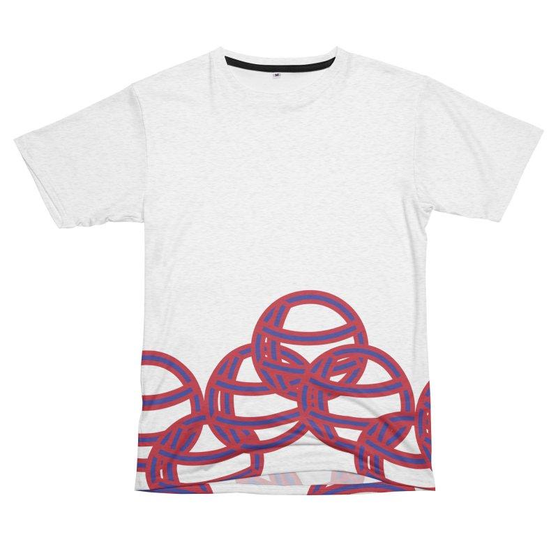 Globes Men's French Terry T-Shirt Cut & Sew by Turkeylegsray's Artist Shop