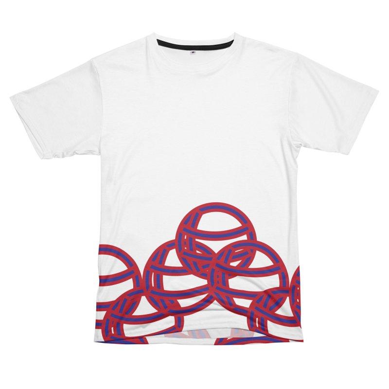 Globes Women's Unisex T-Shirt Cut & Sew by Turkeylegsray's Artist Shop