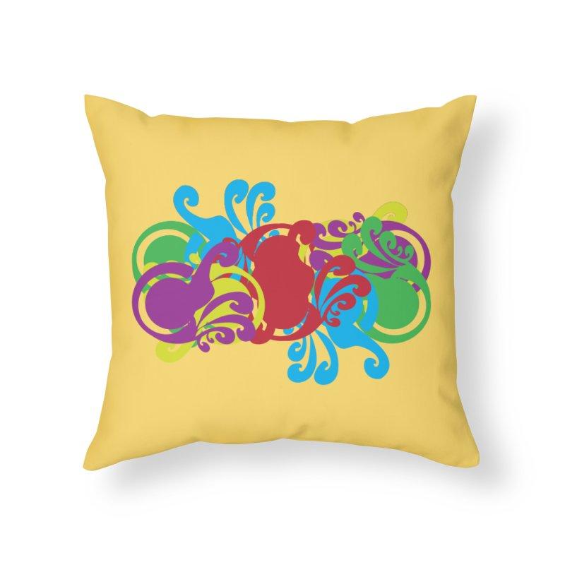 Wacky Home Throw Pillow by Turkeylegsray's Artist Shop