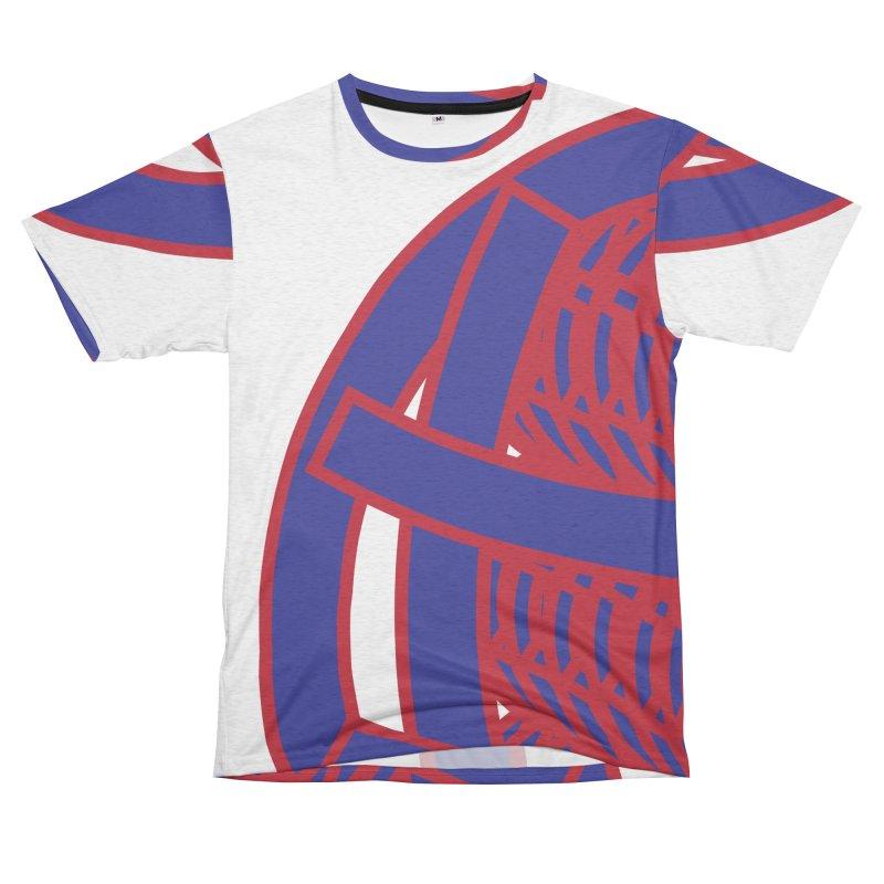 Circle Globe Men's French Terry T-Shirt Cut & Sew by Turkeylegsray's Artist Shop