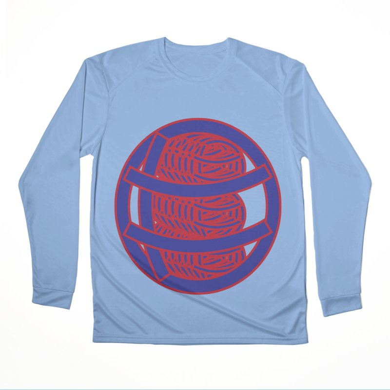 Circle Globe Men's Performance Longsleeve T-Shirt by Turkeylegsray's Artist Shop