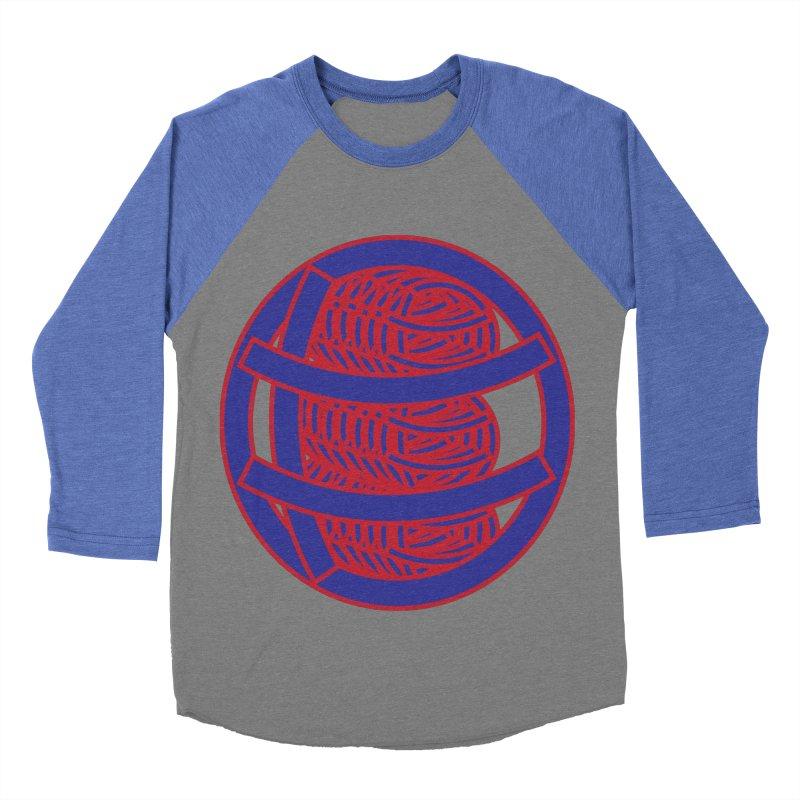 Circle Globe Women's Baseball Triblend Longsleeve T-Shirt by Turkeylegsray's Artist Shop