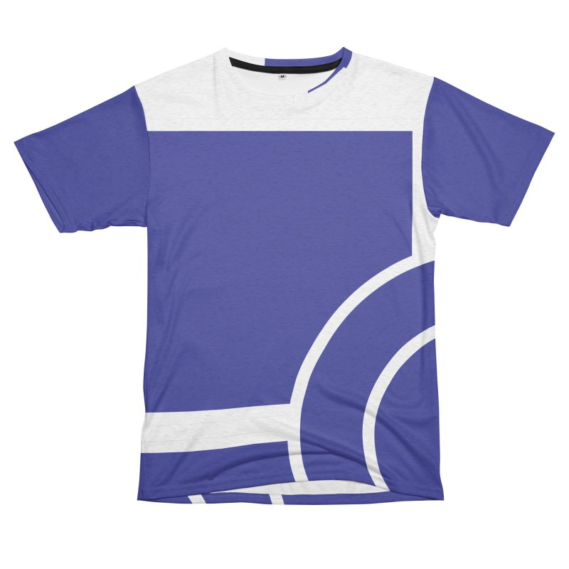 Squares and Circle Men's French Terry T-Shirt Cut & Sew by Turkeylegsray's Artist Shop