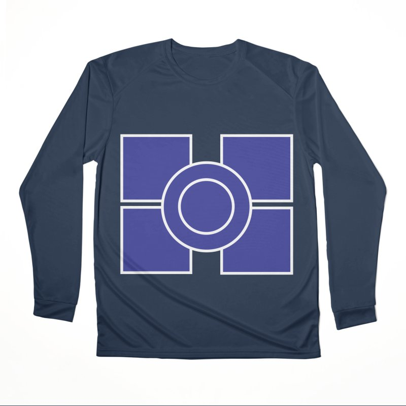 Squares and Circle Men's Performance Longsleeve T-Shirt by Turkeylegsray's Artist Shop