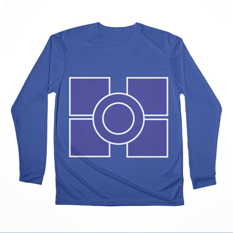 Squares and Circle Women's Performance Unisex Longsleeve T-Shirt by Turkeylegsray's Artist Shop
