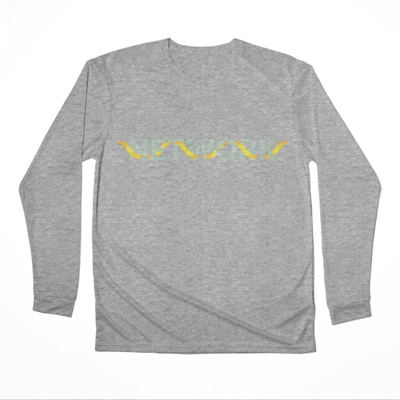 NETWORK Men's Performance Longsleeve T-Shirt by Turkeylegsray's Artist Shop