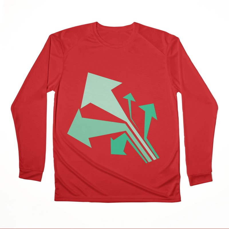 ARROWS Men's Performance Longsleeve T-Shirt by Turkeylegsray's Artist Shop