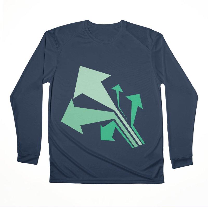 ARROWS Women's Performance Unisex Longsleeve T-Shirt by Turkeylegsray's Artist Shop