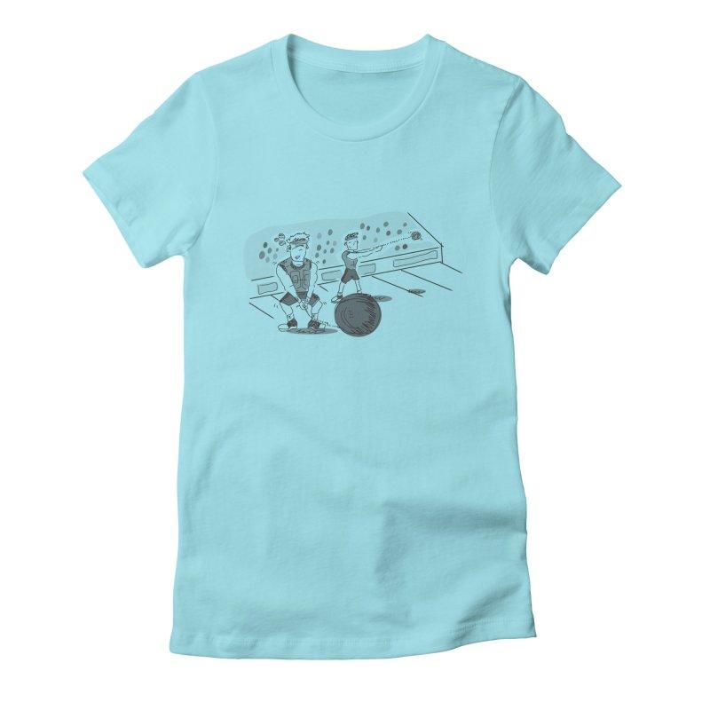 SPORTS! Women's Fitted T-Shirt by Turkeylegsray's Artist Shop