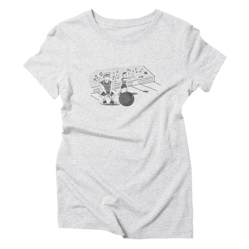 SPORTS! Women's Triblend T-Shirt by Turkeylegsray's Artist Shop