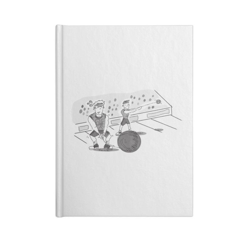 SPORTS! Accessories Blank Journal Notebook by Turkeylegsray's Artist Shop