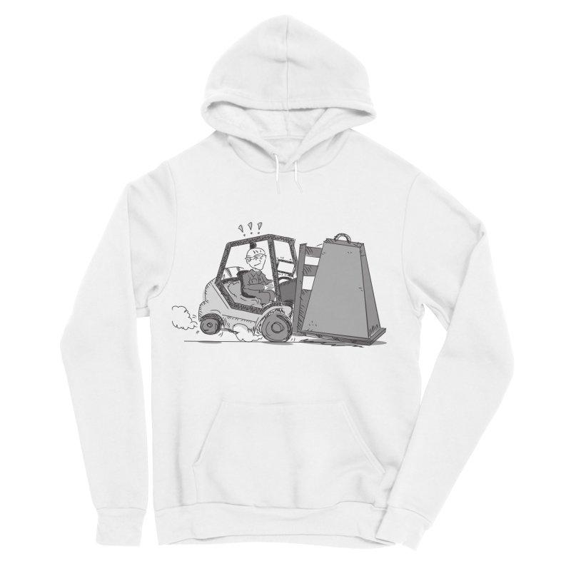 Forklift Men's Sponge Fleece Pullover Hoody by Turkeylegsray's Artist Shop