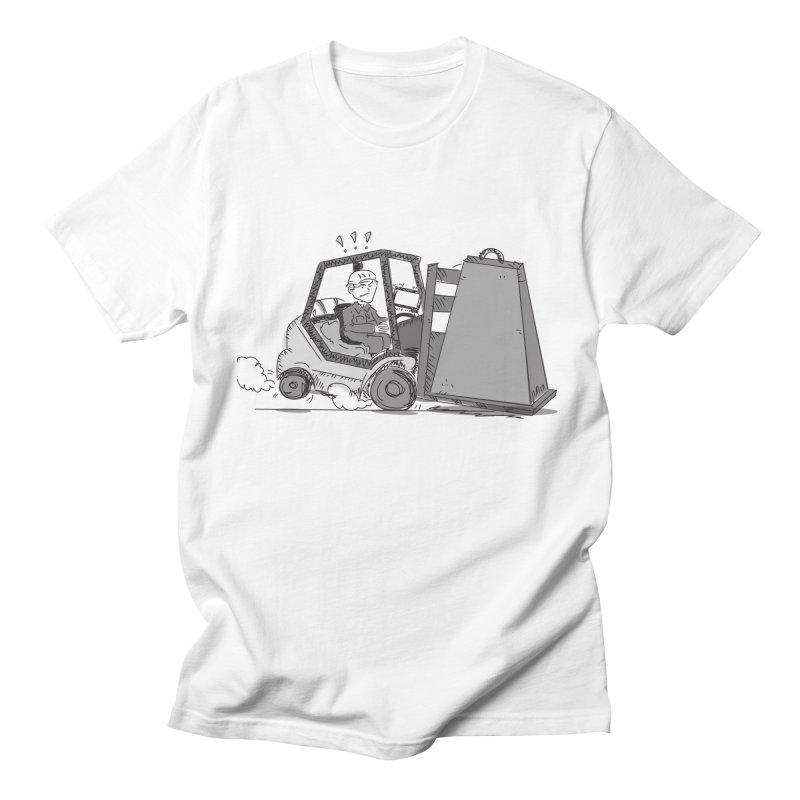 Forklift Women's Regular Unisex T-Shirt by Turkeylegsray's Artist Shop