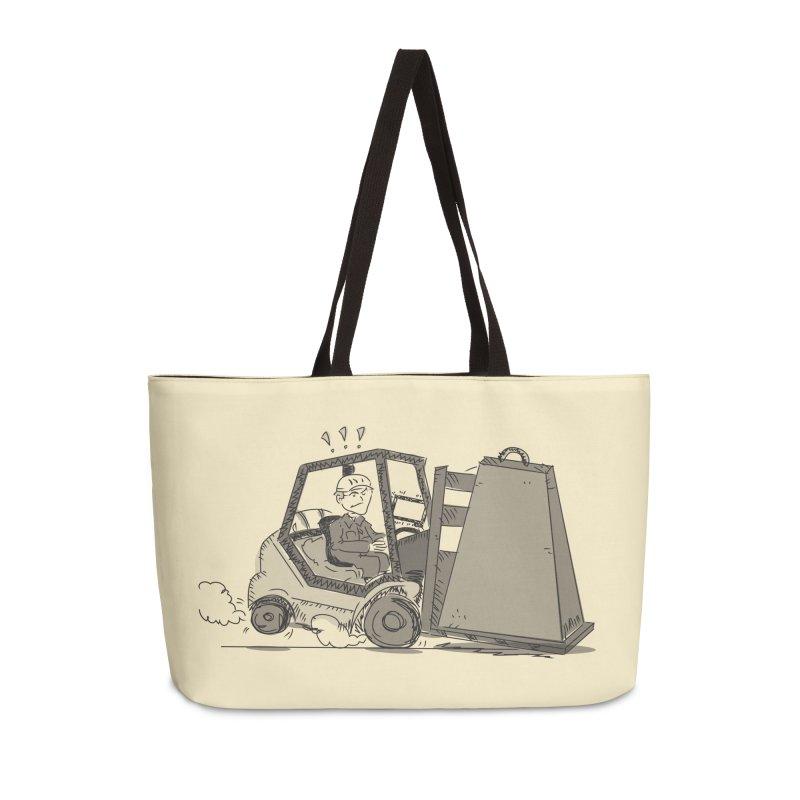 Forklift Accessories Weekender Bag Bag by Turkeylegsray's Artist Shop