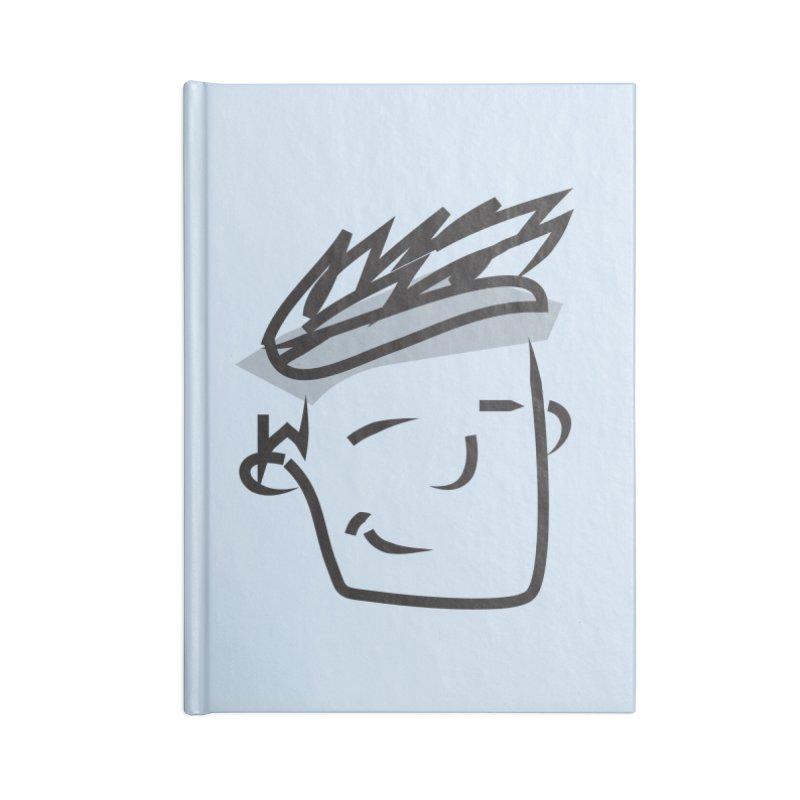 Athlete Accessories Blank Journal Notebook by Turkeylegsray's Artist Shop