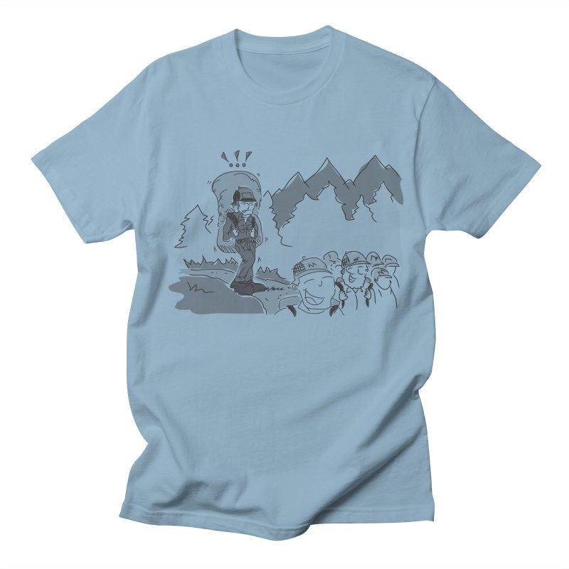 Hiking Women's Regular Unisex T-Shirt by Turkeylegsray's Artist Shop
