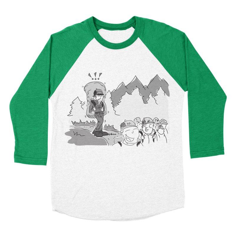 Hiking Women's Baseball Triblend Longsleeve T-Shirt by Turkeylegsray's Artist Shop