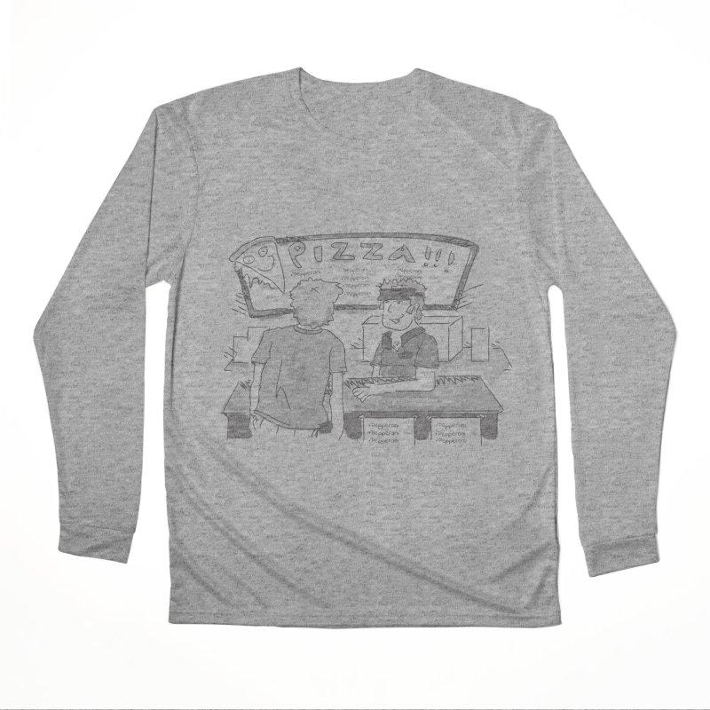PIZZA Women's Performance Unisex Longsleeve T-Shirt by Turkeylegsray's Artist Shop