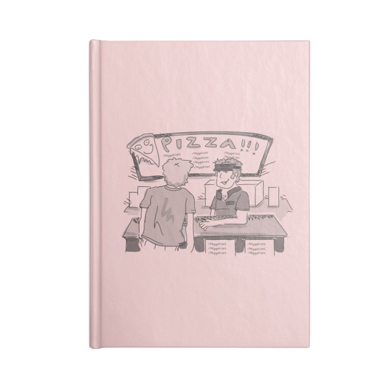 PIZZA Accessories Blank Journal Notebook by Turkeylegsray's Artist Shop