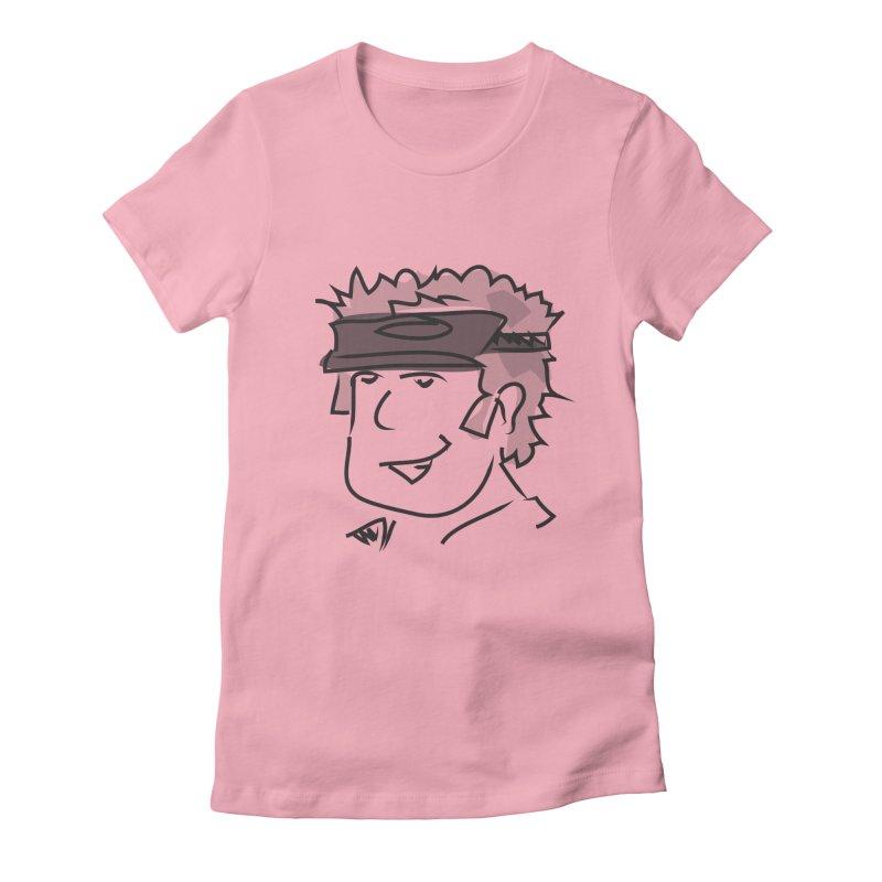 D00D Women's Fitted T-Shirt by Turkeylegsray's Artist Shop