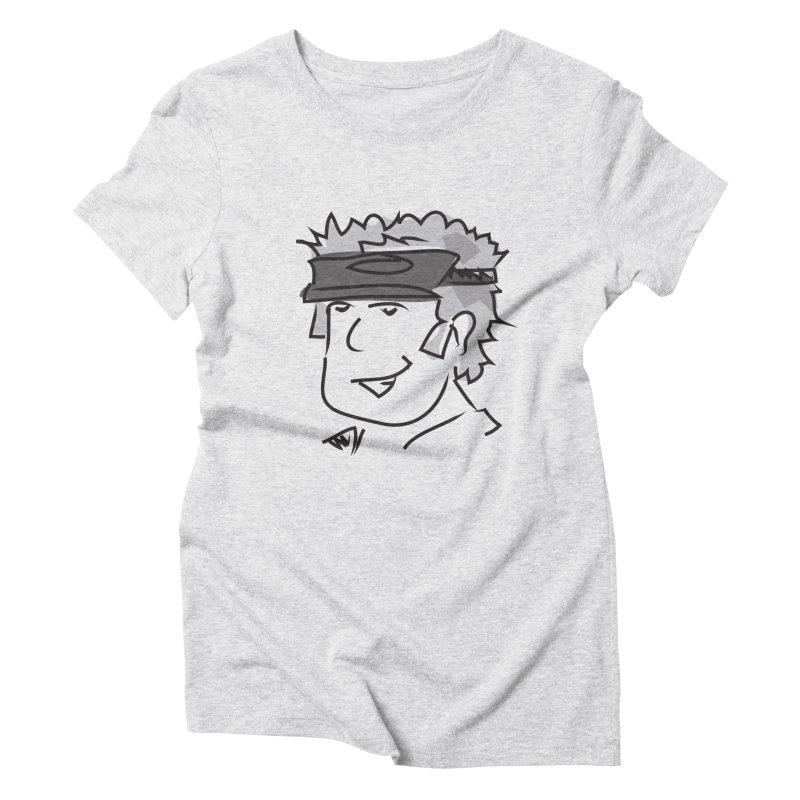 D00D Women's Triblend T-Shirt by Turkeylegsray's Artist Shop