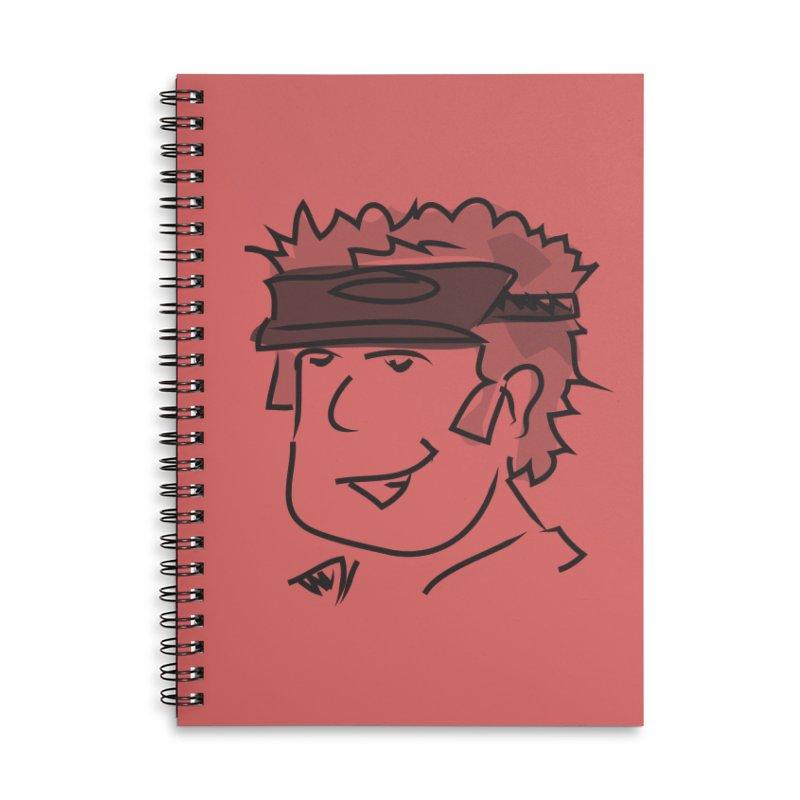D00D Accessories Lined Spiral Notebook by Turkeylegsray's Artist Shop