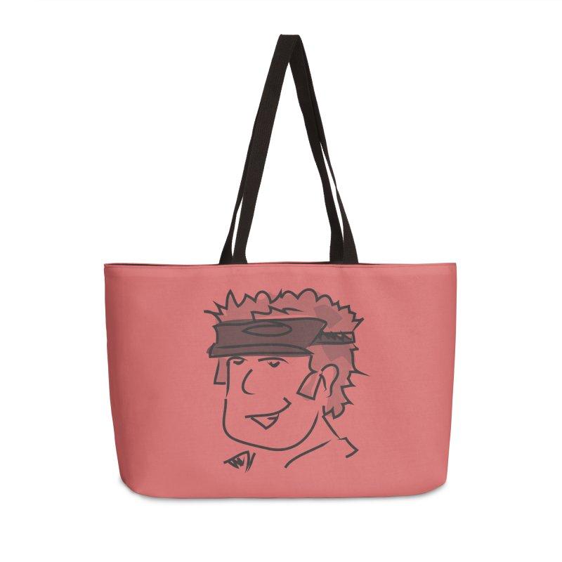 D00D Accessories Weekender Bag Bag by Turkeylegsray's Artist Shop