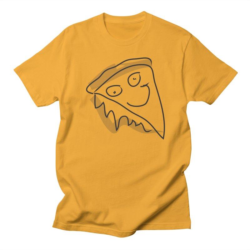 Pizza Face Women's Regular Unisex T-Shirt by Turkeylegsray's Artist Shop