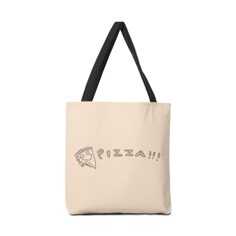 PIZZA!!! Accessories Tote Bag Bag by Turkeylegsray's Artist Shop