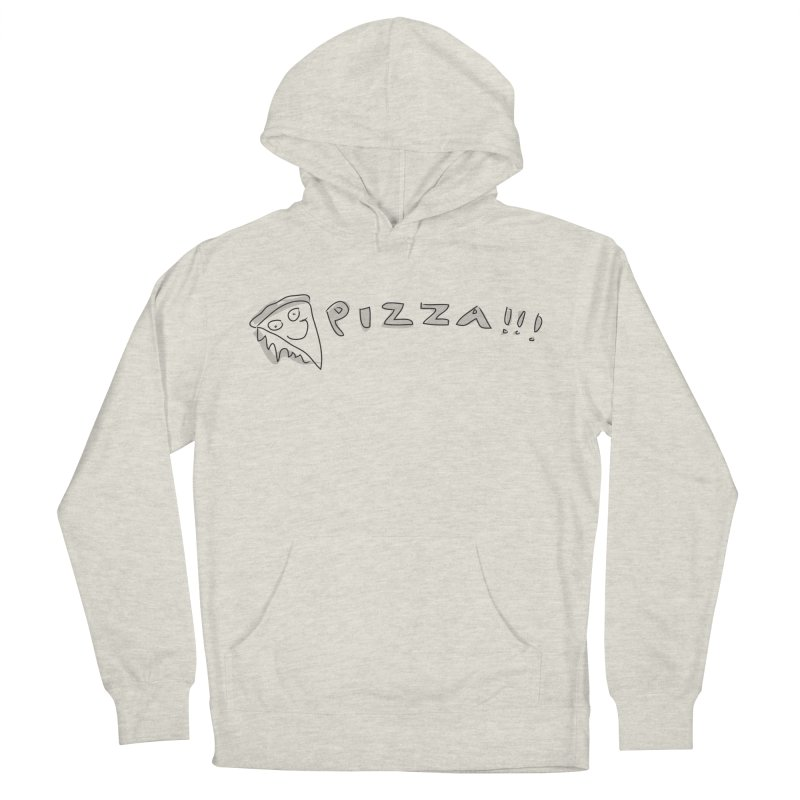 PIZZA!!! Men's French Terry Pullover Hoody by Turkeylegsray's Artist Shop