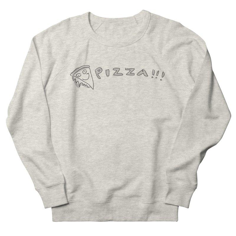 PIZZA!!! Men's French Terry Sweatshirt by Turkeylegsray's Artist Shop
