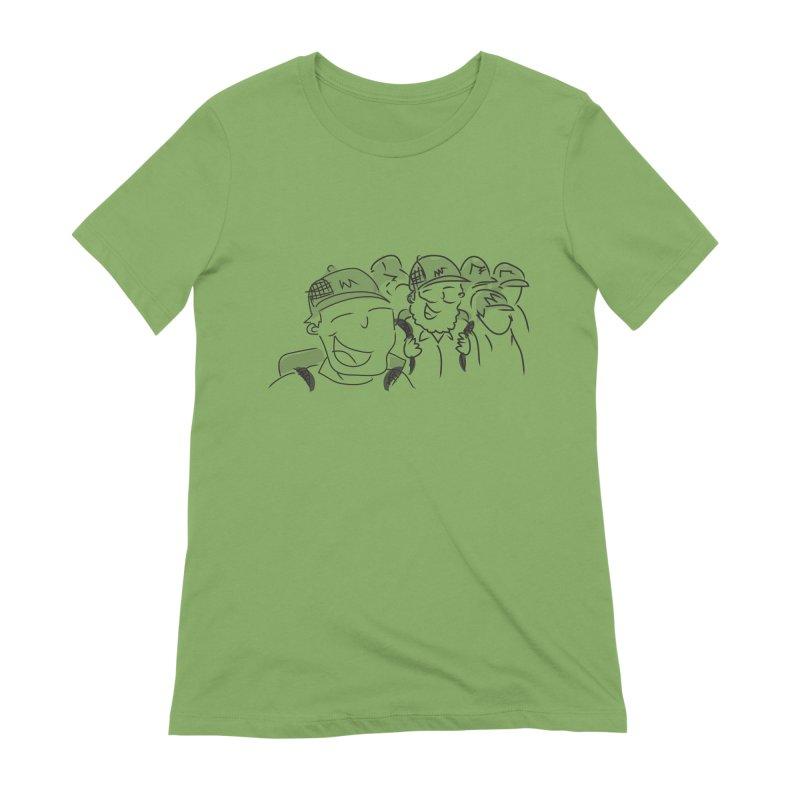 Hikers Women's Extra Soft T-Shirt by Turkeylegsray's Artist Shop