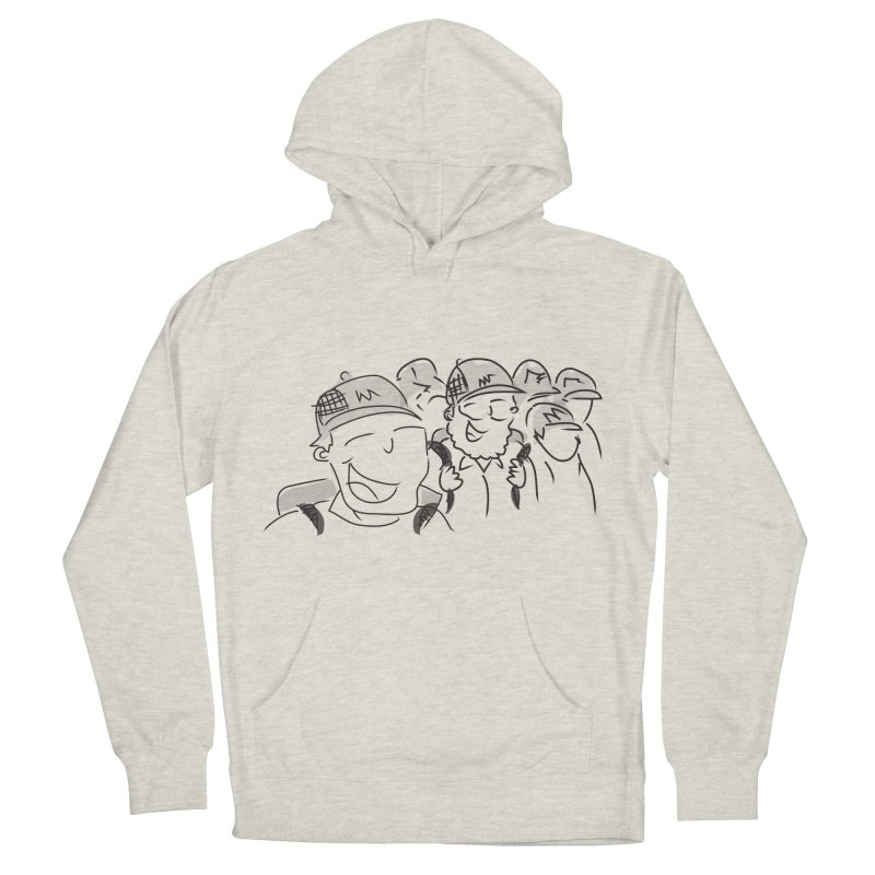 Hikers Men's French Terry Pullover Hoody by Turkeylegsray's Artist Shop