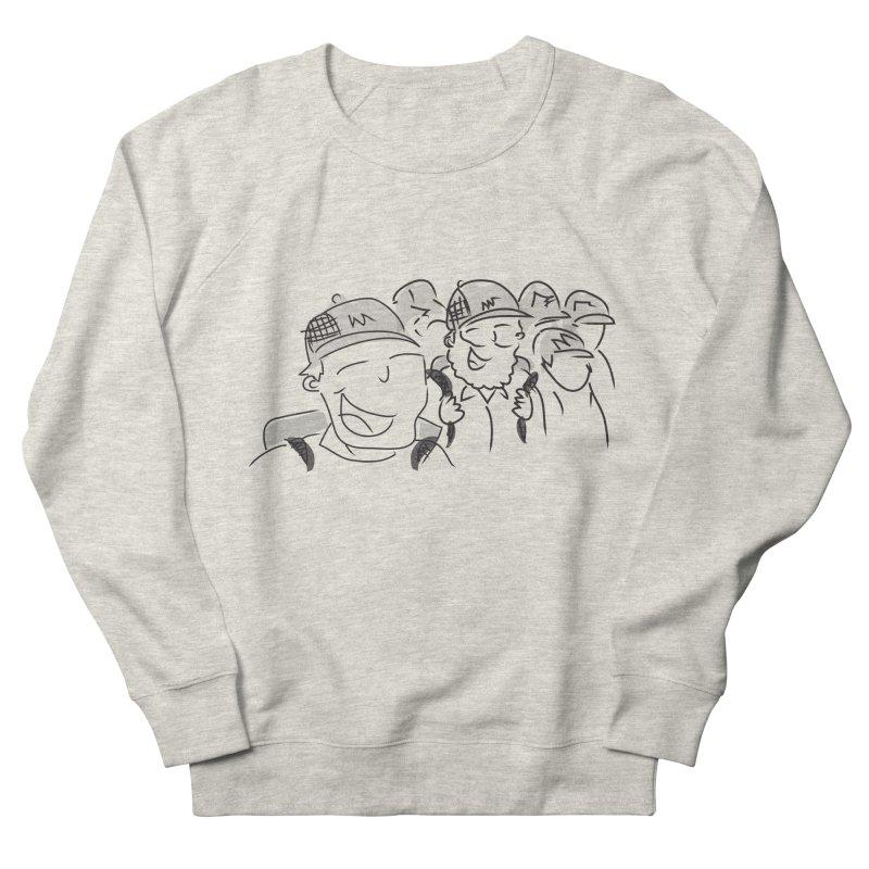 Hikers Men's French Terry Sweatshirt by Turkeylegsray's Artist Shop