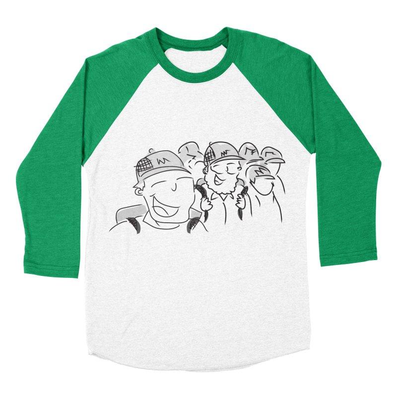 Hikers Women's Baseball Triblend Longsleeve T-Shirt by Turkeylegsray's Artist Shop