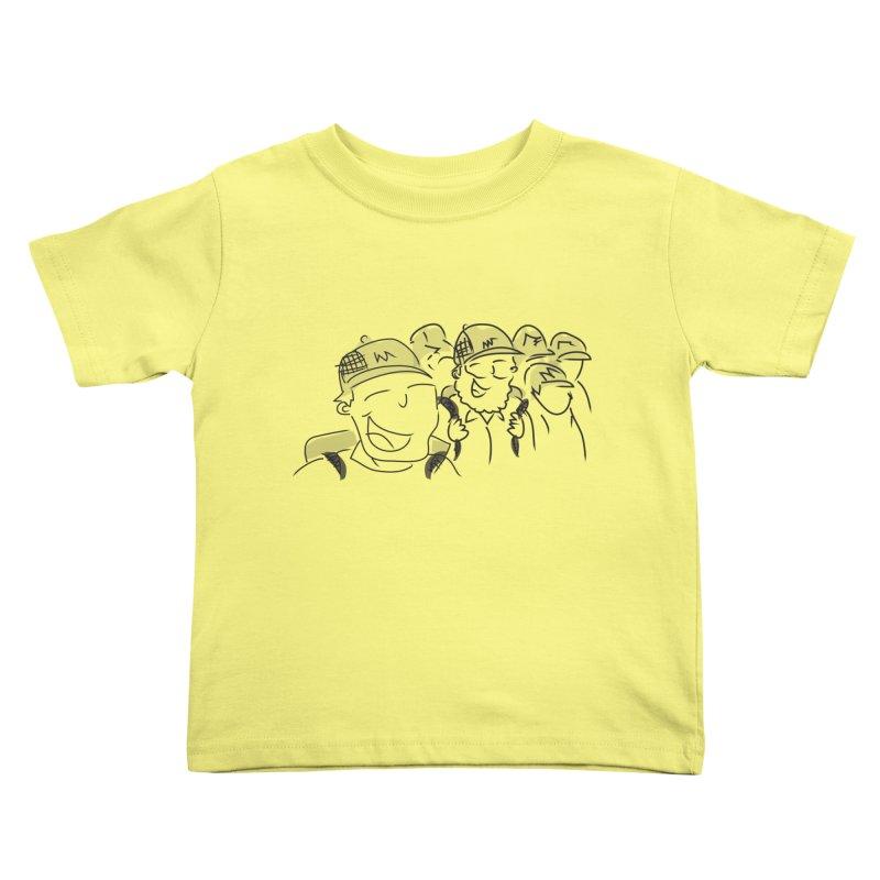 Hikers Kids Toddler T-Shirt by Turkeylegsray's Artist Shop